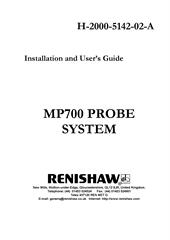 MP700 PROBE SYSTEM - Installation and User's Guide