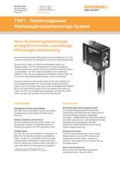 Produktflyer: TRS1 - Berührungsloses Werkzeugbrucherkennungs-System