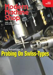 News article: Taking advantage of probing on Swiss Type Lathes