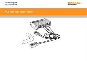 Installation & user's guide:  RLE fibre optic laser encoder