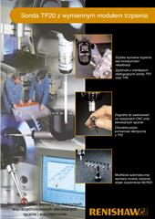 Broszura: Sonda TP20 z wymiennym modułem trzpienia