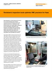 Case study: Haas Automation Inc - Renishaw's inspection tools optimise VMC precision for Haas