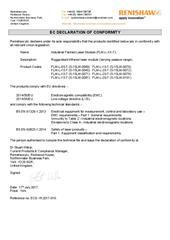 Certificate (CE): FLM-L-XX-T ECD-YK2017-016