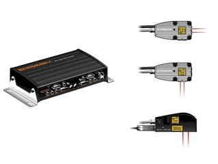 RLU laser units and RLD10 detector heasd