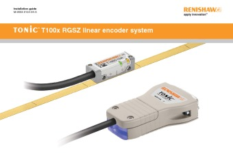 Installation guide: TONiC™ T100x RGSZ linear encoder system