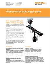 Flyer: TP200 precision touch trigger probe
