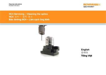 Cleaning instructions: NC4 Servicing - Cleaning the optics