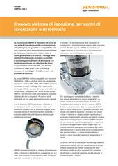 Notizie: Il nuovo sistema di ispezione per centri di lavorazione e di tornitura - OMP60 OMI-2