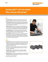 Flyer:  QuickLoad rail and plates - Why choose Renishaw_US