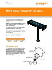 Data sheet: MAPS manual autojoint probe stand