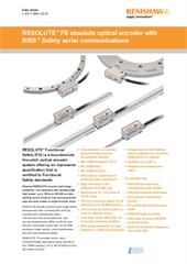 Data sheet:  RESOLUTE™ FS absolute optical encoder with BiSS ® Safety serial communications