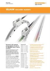 Data sheet: SiGNUM™ encoder system