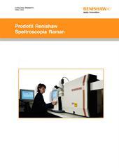 Catalogo: Prodotti Renishaw - Spettroscopia Raman