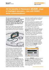 News release:  All the benefits of Renishaw's SiGNUM range of intelligent encoders... now with FANUC serial communications!