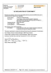 Certificate (CE):  Certificate (CE) TP7M 2017-111