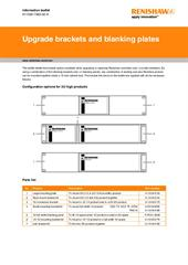 Leaflet:  Upgrade brackets and blanking plates
