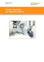 Catologo prodotti: Prodotti Renishaw per macchine utensil