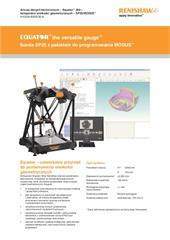 Arkusz danych technicznych – Equator™ 300: komparator wielkości geometrycznych – SP25/MODUS™