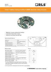 Data sheet:  Orbis™ battery backup multiturn (BBM) absolute rotary encoder