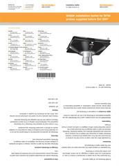 Leaflet:  SH80K - for SP80 probes supplied before Oct 2007