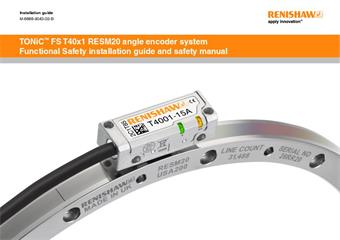 Installation guide:  TONiC™ Functional Safety T40x1 RESM20 angle encoder system