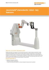 Flyer:  neuromate stereotactic robot - key features (worldwide, excl. USA)