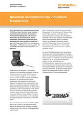 Presseinformation: Renishaw revolutioniert die industrielle Messtechnik