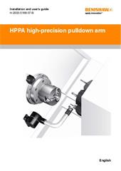 User guide:  HPPA high precision pull-down arm