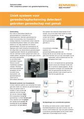 Technisch artikel: Uniek systeem voor gereedschapherkenning detecteert gebroken gereedschap met gemak