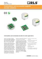 Data sheet:  Commutation and incremental encoder solutions