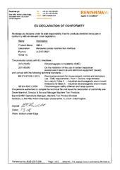 Certificate (CE): MI8-4 EUD 2017-206