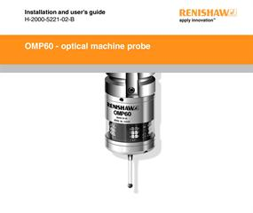 Installation & user's guide:  OMP60 probe system