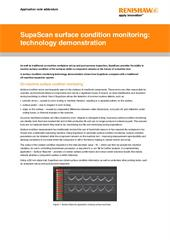 Application note:  SupaScan surface condition monitoring addendum