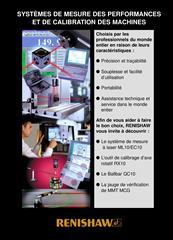 Brochure: Systèmes de mesure des performances et de calibration des machines