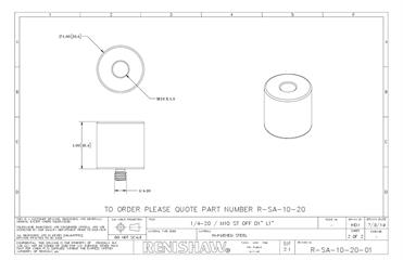 Technical drawing:  R-SA-10-20