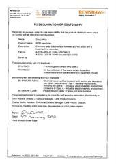Certificate (CE): SP80_interface ECD2017-68