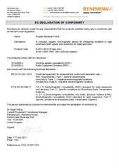 Certificate (CE): Rodded Boretrak Probe ECD-YK2017-013