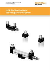 Installations- und Benutzerhandbücher:  NC4 Berührungsloses Werkzeugkontroll-System