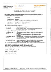Certificate (CE):  RMP400 EUD 2017-214