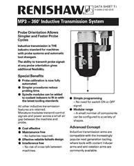 Data sheet: MP3 - 360° induction transmission system