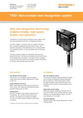Flyer: TRS1 non-contact tool recognition system