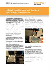Persbericht: Productivity+™ 1.03 - Software voor bewerkingsmachines
