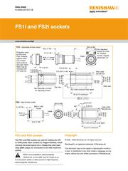 FS1i and FS2i sockets data sheet