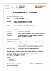 Declaration of conformity:  RGH25 ECD2016-31