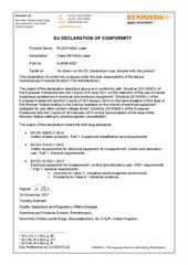 Certificate (CE):EU_Declaration_RL633_HeNe_Laser