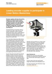 News release:  Leading encoder supplier to participate in Linear Motion Masterclass