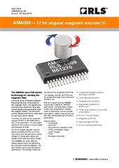 Data sheet:  AM4096 rotary magnetic encoder IC
