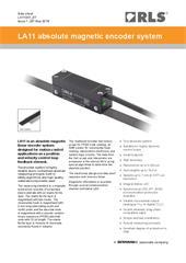 Data sheet:  LA11 absolute magnetic encoder system