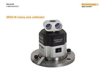 User guide:  XR20-W rotary axis calibrator