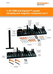 Data sheet:  1/4-20 CMM and Equator™ system clamping and magnetic component set C